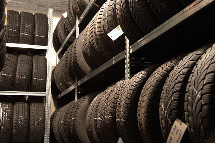 fachgerecht eingelagerte Reifen
