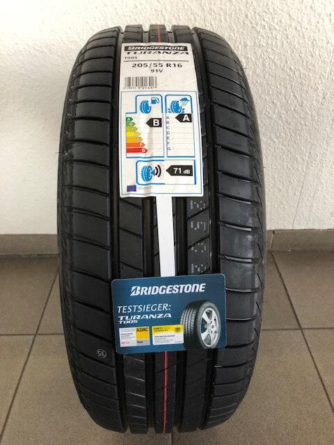 Bridgestone Turanza T005 Sommerreifen